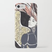 human iPhone & iPod Cases featuring HUMAN by Dulevartiano