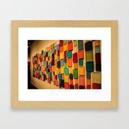 Colour. Framed Art Print