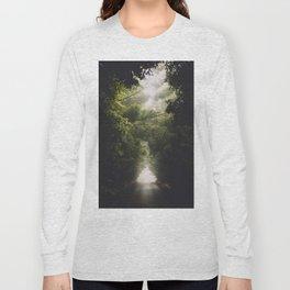 Foggy Side Road Long Sleeve T-shirt