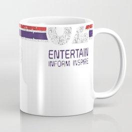 EPCOT Center Vintage Style Distressed Pavilion Logos Coffee Mug