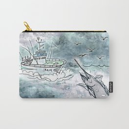 Fishing swordfish Carry-All Pouch