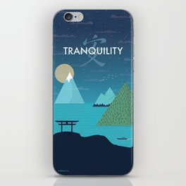 Tranquility (Night) iPhone Skin