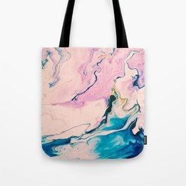 Ebb & Flow Marble Tote Bag