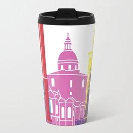 Bologna skyline pop Travel Mug