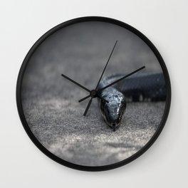 black snake Wall Clock