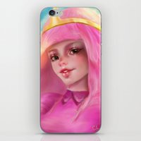 princess bubblegum iPhone & iPod Skins featuring Princess Bubblegum by ChrySsV