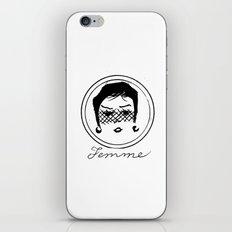 Femme iPhone & iPod Skin