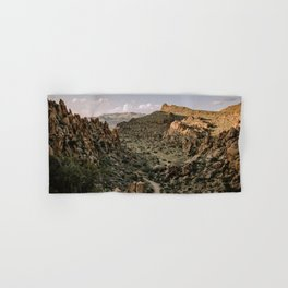 Balanced Rock Valley View in Big Bend - Landscape Photography Hand & Bath Towel