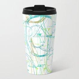 Roman Alphabet Travel Mug