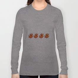orange flowers ha noi Long Sleeve T-shirt