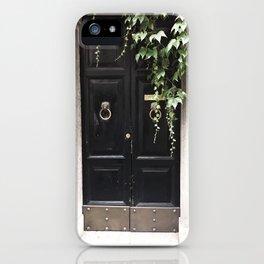 Doors of Rome, Dark wine iPhone Case