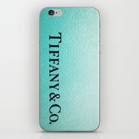 tiffany iPhone & iPod Skins featuring Tiffany by Christine Leanne