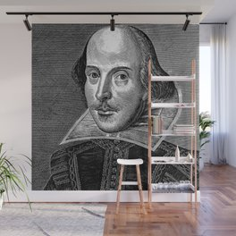 William Shakespeare Wall Mural