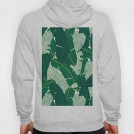 Classic Banana Leaves in Palm Springs Green Hoody