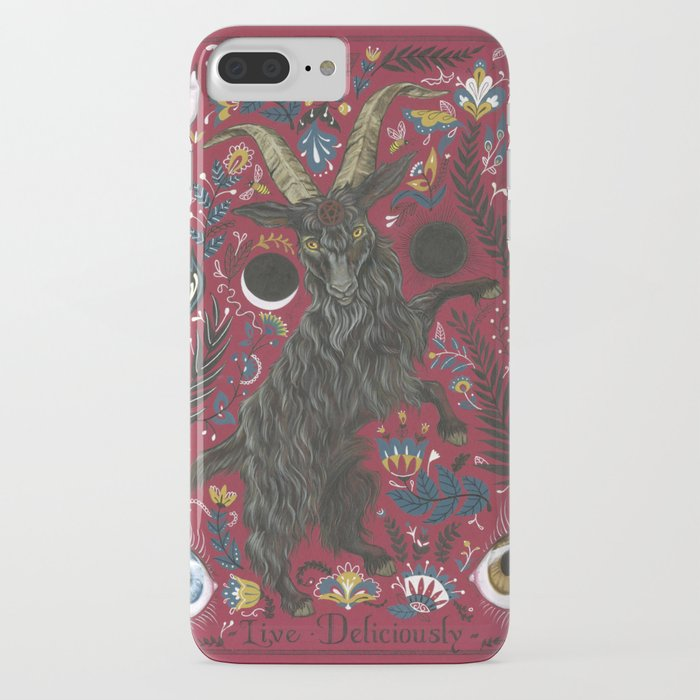black phillip iphone case