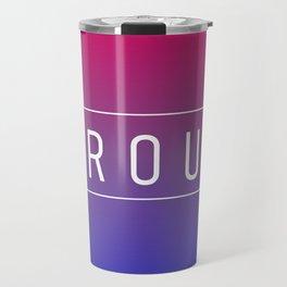 Bisexual Flag v2 - Pride Travel Mug