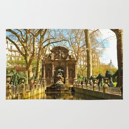 The Medici Fountain Rug