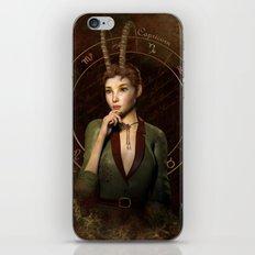 Capricorn zodiac fantasy circle iPhone & iPod Skin