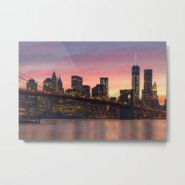 NEW YORK CITY 34 Metal Print