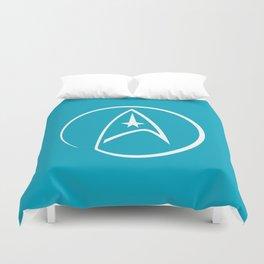 Heathen Trekkie - StarTrek 's Spock Blue Duvet Cover
