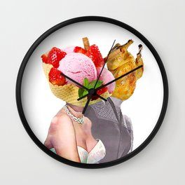 Food Paparazzi Wall Clock
