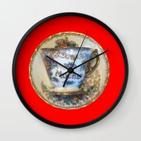 antique Wall Clocks featuring Antique by gbcimages