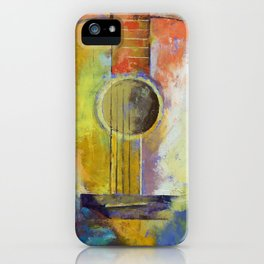 Guitar Melodies iPhone Case