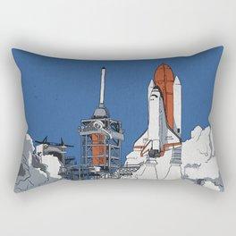 Last Launch Rectangular Pillow
