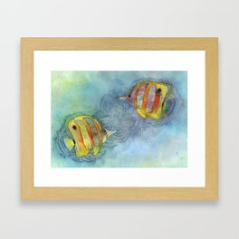 More Fish in the Sea Framed Art Print