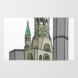 Kaiser Wilhelm Memorial Church Rug