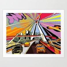 São Paulo - Brazil Art Print