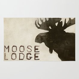 The Moose Mat Rug