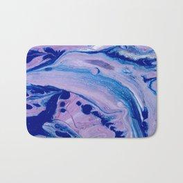 Purple Dolphins Bath Mat