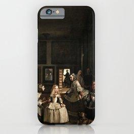 diego velazquez las meninas iPhone Case