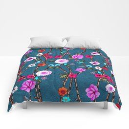 Spring Flowers Decò Comforters