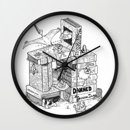 Worlds within Worlds Wall Clock