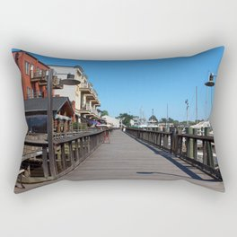 Harborwalk View Rectangular Pillow