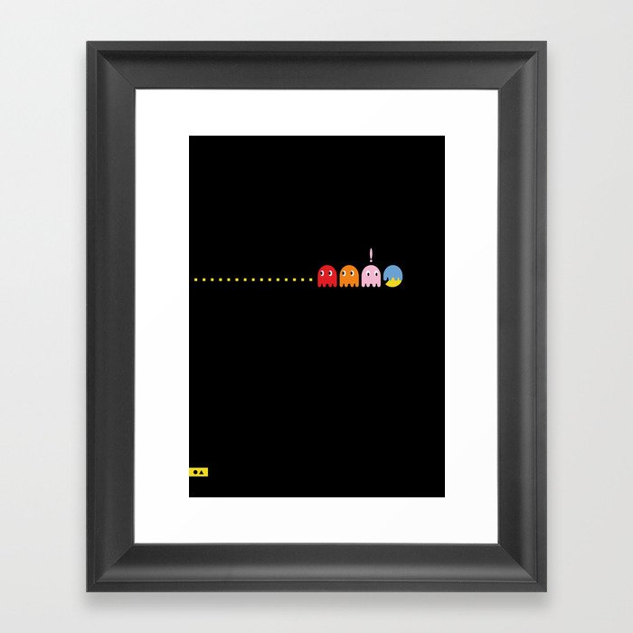 Ghost Disguise Framed Art Print