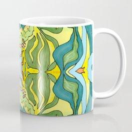 Lettuce Bloom Kaleidoscope Coffee Mug