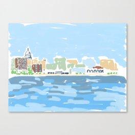Madtown Canvas Print