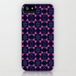 Repeating Fireworks iPhone Case