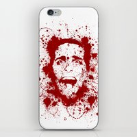 scary iPhone & iPod Skins featuring American Psycho by David