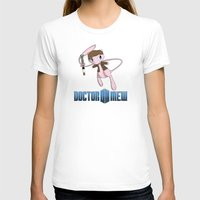 mew T-shirts featuring Doctor Mew by Wuvwa