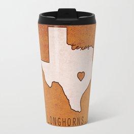Texas Longhorns Travel Mug