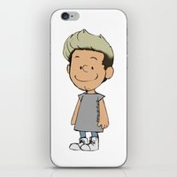 niall iPhone & iPod Skins featuring Schulz Niall by Ashley R. Guillory