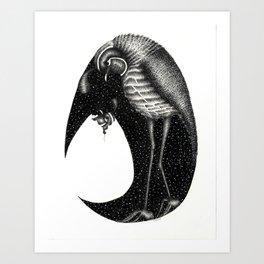 Quail and Fledgling Art Print