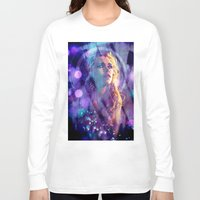 bad wolf Long Sleeve T-shirts featuring Bad Wolf by Sirenphotos