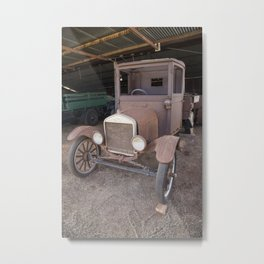 Ford car Antique Metal Print