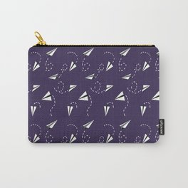 Trouble Maker in Purple Carry-All Pouch