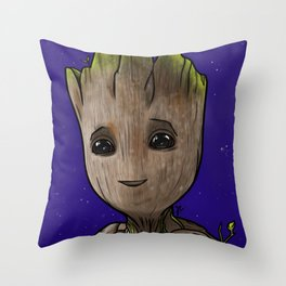 baby guardian Throw Pillow